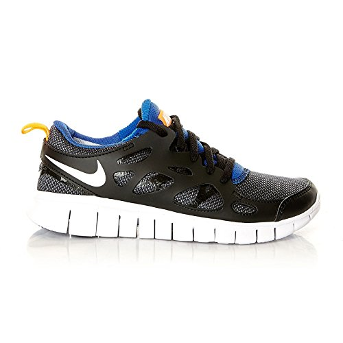 total black hombre Zapatos Gs orange royal white game Run Nike 2 033 para Nike Free 8vwCqU