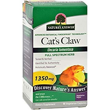 Nature'S Answer Cat'S Claw Inner Bark 90 Cap