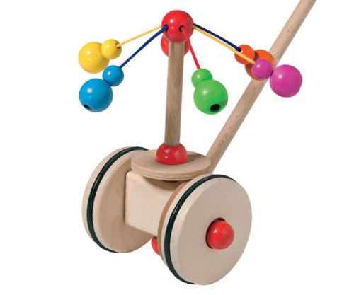 - Carousel Wooden Push Toy by Selecta