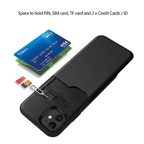 Maxace Card Holder Case Compatible iPhone 11 6.1