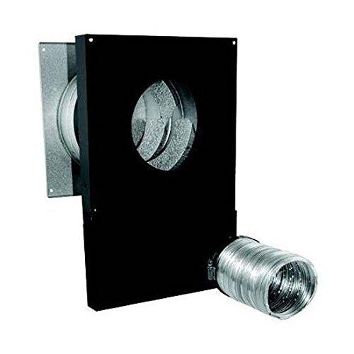 DuraVent 3CAS-WTPK 3″ Inner Diameter – Combustion Air System PelletVent Pro Chim, Matte Black For Sale