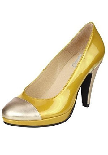Women's Shoes Pumps Best Connections Court YELLOW Yellow 8WBq5n1P7