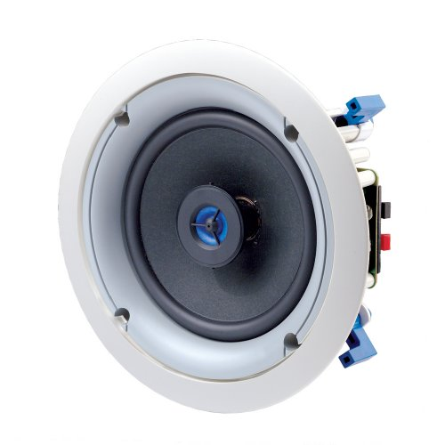 Leviton SGC65-W 6.5-Inch Two-Way In-Ceiling Loudspeaker, White by Leviton