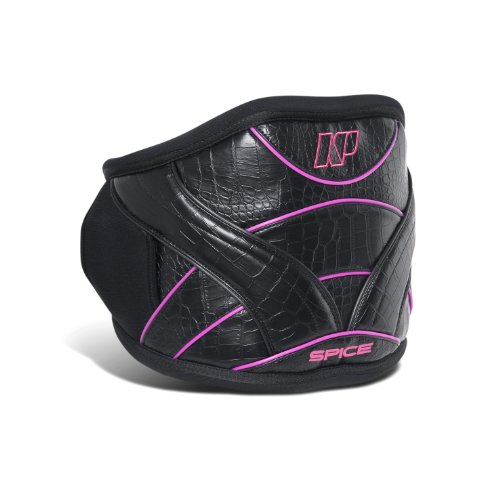 NP Surf Women's Spice Windsurf Easy Release Waist Harness, Black/Rose, Small