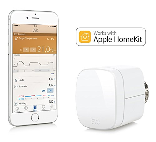 Elgato Eve Thermo (Generación anterior) - Válvula termostática para radiador con la tecnología Apple HomeKit, Bluetooth Low Energy, color blanco: Amazon.es: ...