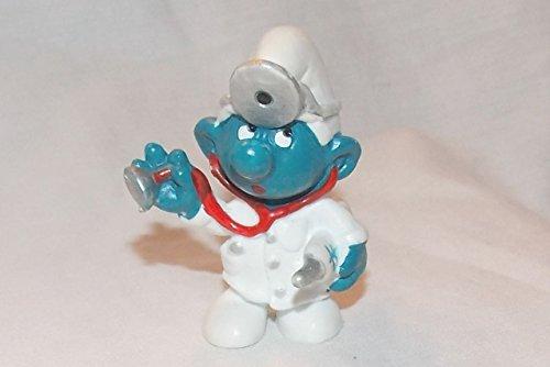 (1978 Vintage Smurf Doctor PVC Figure)