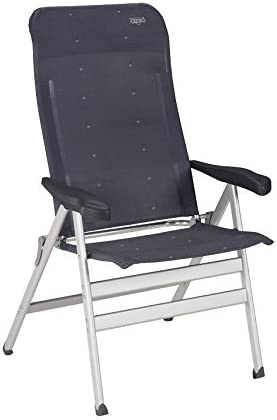 Chaise de camping//chaise pliante Crespo Aluminium Compact Anthracite