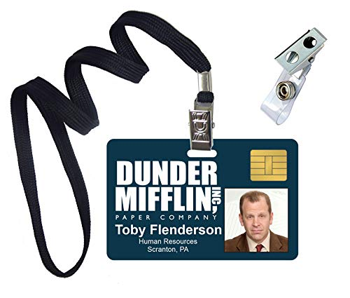 Toby Flenderson, The Office, Novelty ID Badge Film Prop for Costume and Cosplay • Halloween and Party Accessories -
