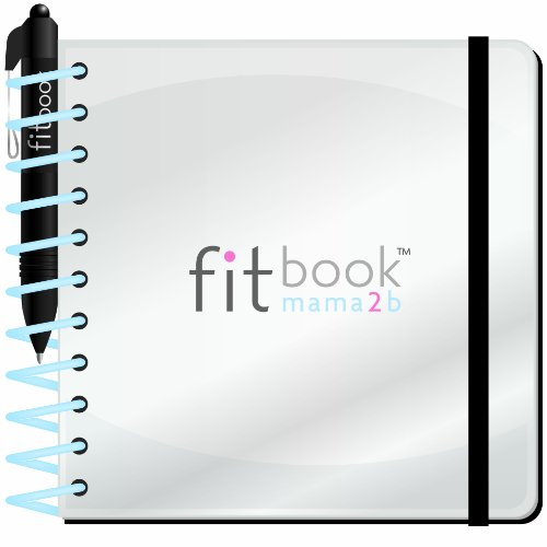 Fitlosophy 'Mama2B' 40-Week Pregnancy Journal, 5.5'' W x 5.5'' L by Fitlosophy