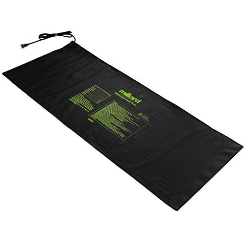 Milliard Durable 48'' x 20'' Waterproof Hydroponic Seedling Heat Mat / Warm Heating Pad to Increase and Expedite Plant Growth
