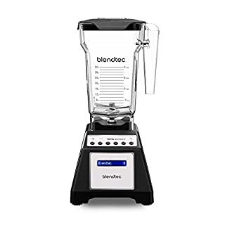 Blendtec Total Classic Original Blender with FourSide Jar (75oz volume/32 oz Wet/Dry Fillable), Professional-Grade Power, 6 Pre-programmed Cycles, 10-speeds, Black (B000GIGZXM) | Amazon price tracker / tracking, Amazon price history charts, Amazon price watches, Amazon price drop alerts