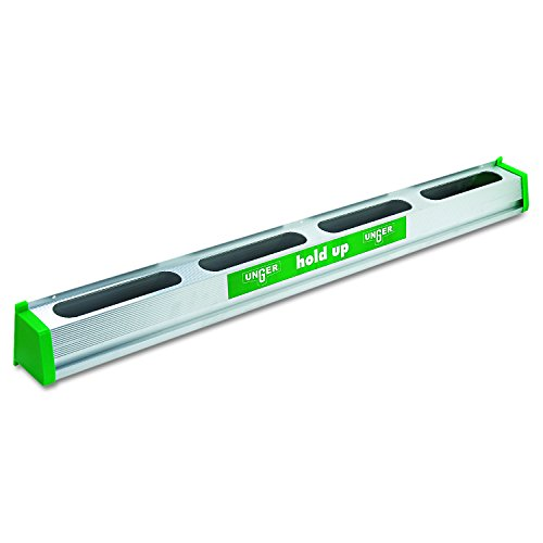 Unger Hold Up Aluminum Tool Rack, 36, Aluminum/Green