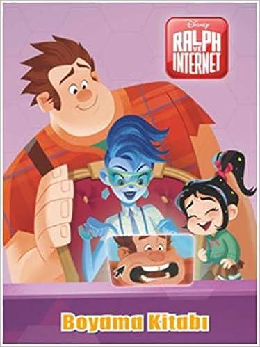Boyama Kitabı Ralph Ve Internet 9786050957396 Amazoncom Books