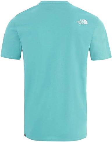 The North Face T Shirt SS NSE Tee Verde Agua NF0A2TX4BDF1 ...