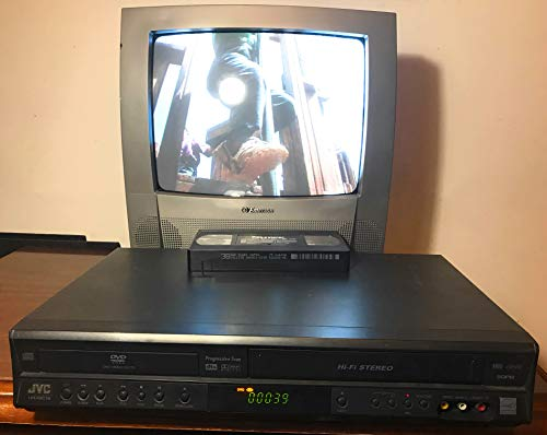 JVC HR-XVC18BU Progressive Scan DVD/VCR Video Cassette Recorder VHS Combo Player