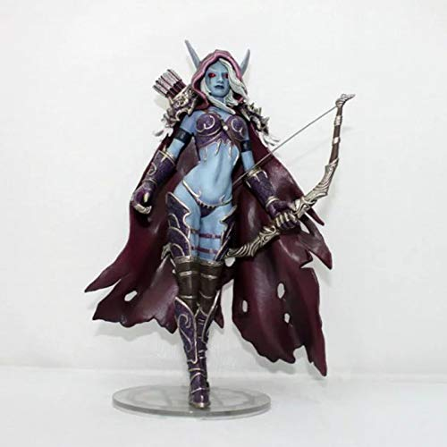 World of Warcraft, Sylvanas 18Cm Game Figure, Queen of The Dead, Boxed Model Decoration