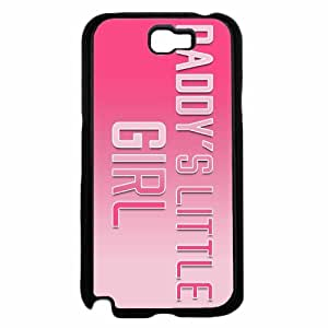 Daddy's Little Girl- TPU RUBBER SILICONE Phone Case Back Cover Samsung Galaxy Note II 2 N7100