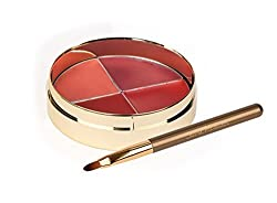 Jerome Alexander High-Pigment Lipstick Quad For Rich and Vibrant Lips - New for 2015