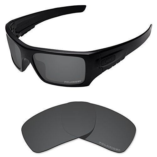 68492765e4 Tintart Performance Replacement Lenses for Oakley Si Ballistic Det Cord  Sunglass Polarized Etched-Carbon Black