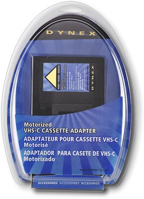 Dynex DX-DA100611 - Video cassette adapter VHS-C to VHS by Dynex