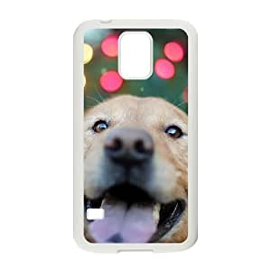 HEALTH Cute dog Phone Case For Samsung Galaxy S5 i9600 [Pattern-5]