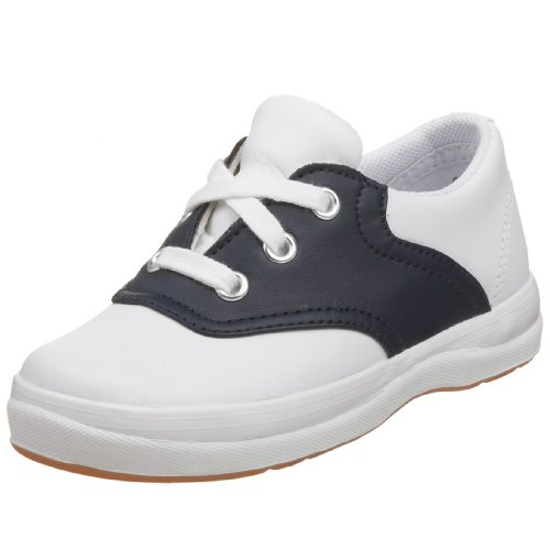 Keds unisex-child School Days II Sneaker ,White/Navy,9.5 Toddler S