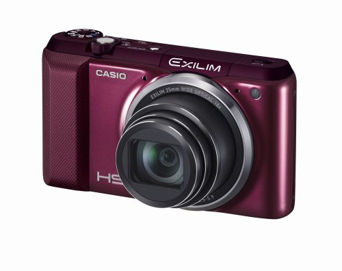 Casio EXILIM High Speed EX-ZR850 EXZR850RD (Red) Digital Camera with 16.1 MP with 18x Optical Zoom with WiFi Function
