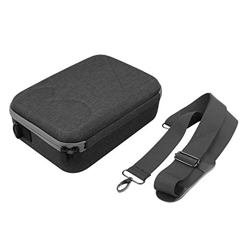 Large Capacity Handheld Shoulder Bag with Adjustable Strap Portable Carry Case Hard Satchel for DJI Mavic Mini Drone (Black)