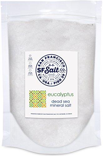 Eucalyptus Dead Sea Salt - 10 lb. Bulk Bag