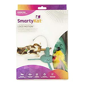 SmartyKat Loco! Motion Cat Toy Automated Activity Toy 24