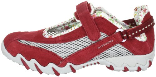 Femme Baskets Mode Allrounder Rouge By Mephisto Niro p1xU81XSq