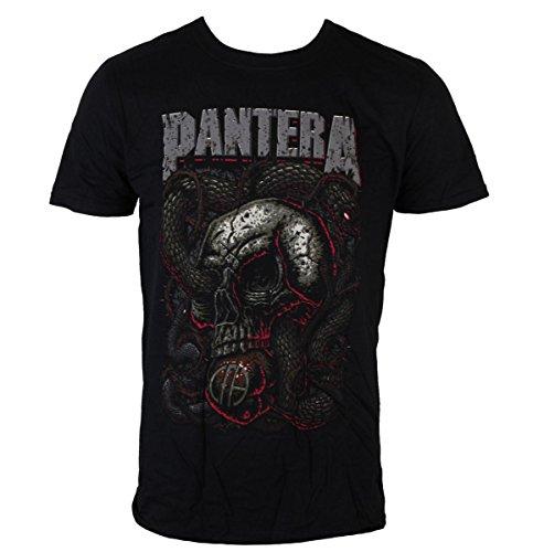 Männer Shirt Pantera - Serpent Skull - ROCK OFF - PANTS08MB XXL