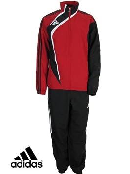adidas Tiro Chándal de Color Rojo, Rojo: Amazon.es: Deportes y ...