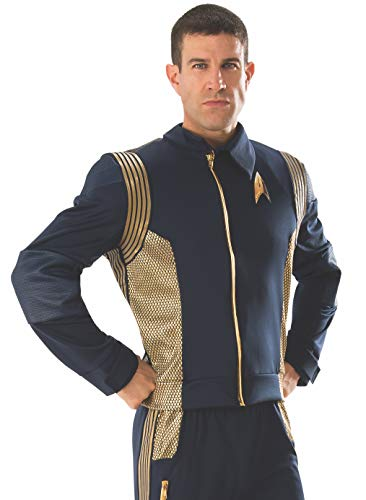 Rubie's 821204-XL Star Trek Discovery Command Costume Uniform, Gold, X-Large -