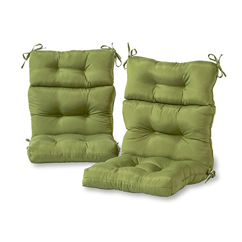 Greendale Home Fashions Outdoor High Back Chair Cushion (set of 2), -