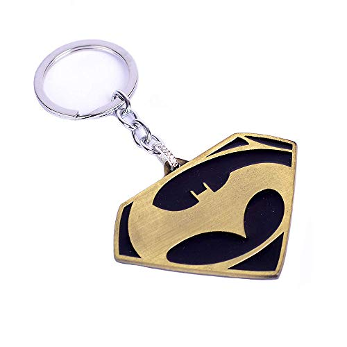 Superman Pop Keychain DC Comics Accessories Metal Pendant Charm Gifts for Teen Boy Girl Best Friend/Collection