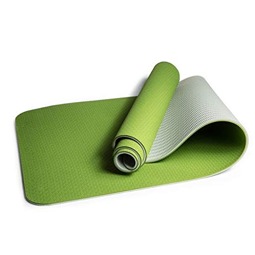 B Fit TPE Yoga Mat – Classic 6 MM Pro Yoga Mat Eco Friendly Non Slip Fitness Exercise Mat with Smart Carry Bag-Workout Mat for Yoga, Pilates and Floor Exercises Price & Reviews