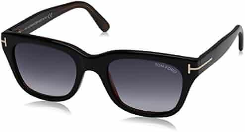 d7aa6d0cc6 Tom Ford SNOWDON FT0237 05B Black Other Sunglasses Grey Gradient 52mm Lens