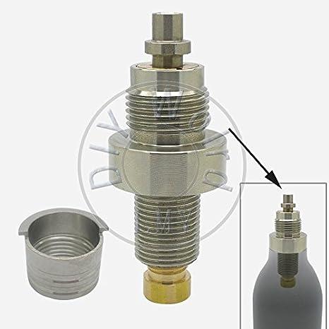 MYOT Airforce - Válvula de Alta presión con Sombrero de 8/9 mm para Condor Talon/SS Gunpower CO2 PCP