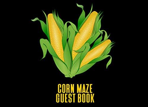 Corn Maze Guest Book: A Keepsake Book For Farmers