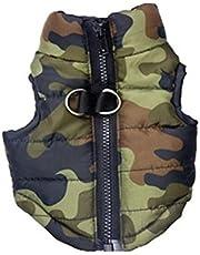 Dog Clothes Thick Warm Pet Vest Jacket Sleeveless Coat Harness Padded