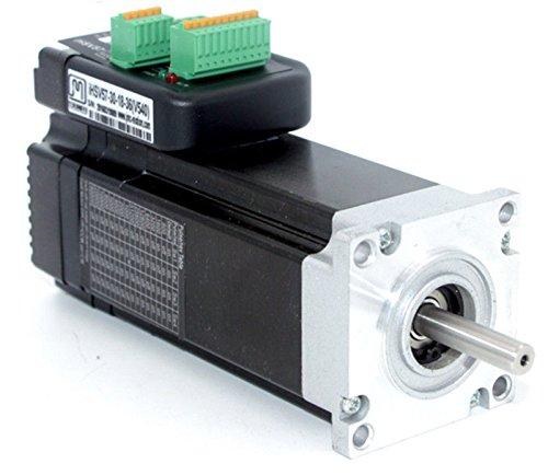 TOAUTO Hybrid Stepper Motor Driver 180W 3000rpm NEMA23 0.57Nm Integrated Servo Motor 36VDC JMC iHSV57-30-18-36 for CNC Control