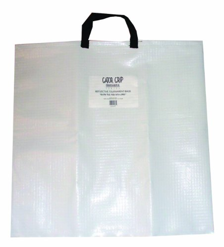 Fish Bag Tournament - Gator Grip Fish Weigh Bag, White/Black