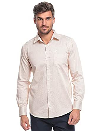 99 White, Gold Cotton Shirt Neck Shirts For Men