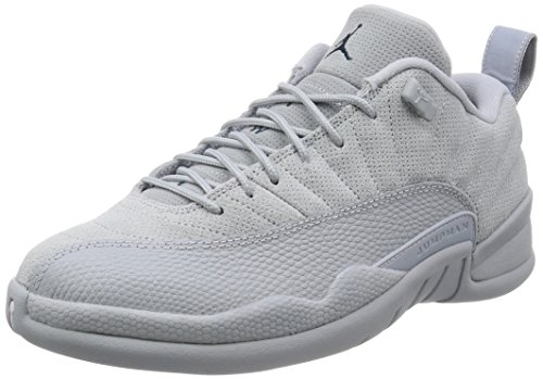 Jordan Men's Air 12 Retro Low, Wolf Grey/Armory Navy, 10.5 M US (Retro Low Jordan Xii Air)