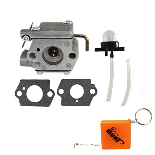 HURI Carburetor with Primer Bulb Fuel Line for Ryan Ryobi 72