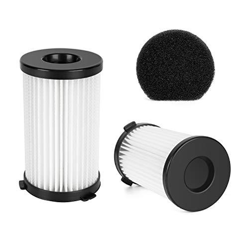 (MOOSOO 2 HEPA and 1 Sponge Filter for D600 Corded Vacuum Cleaner)
