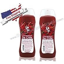 Concentrado de Chile/ Concentrated Shampoo Estimula y reactiva la circulación del cuero cabelludo Evita la