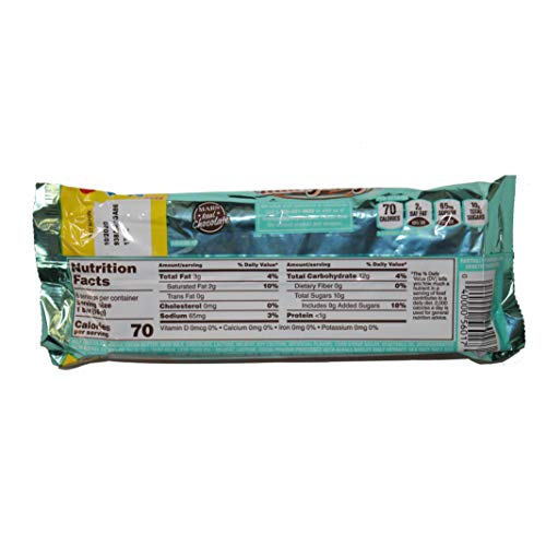 Milky Way salted caramel 6 fun size bars, 3.38 oz net wt