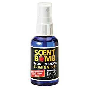 Scent Bomb Odor Eliminator Air Freshener Spray Bottle, 2 oz.